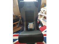 *** X-Rocker bluetooth gaming chair ***