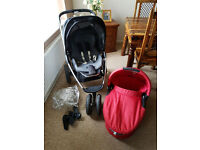 Quinny buzz carry cot and pushchair £100ono