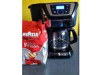 Russell Hobbs Coffee Machine + Lavazza Coffee 1000g
