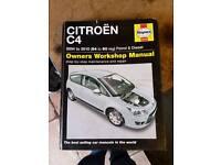 Citroen C4 Haynes manual
