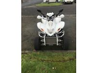Road legal quad with R6 engine sale or swap