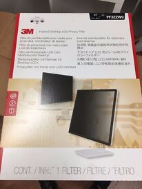 Office Clearance - White Shelve Box - Cable/lead new - screen filter