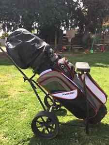Golf Clubs (full set) with buggy and bag McKinnon Glen Eira Area Preview