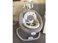 Joie 2 in 1 baby swing