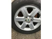 Freelander 2 Alloy wheel and Tyre 17""