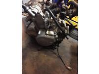 wr125 engine!!