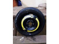 14inch 4x100 pdc space saver tyre NEW will fit other 100mm pdc x4
