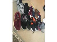 MENS SKATE SHOES JOBLOT £30 ONO