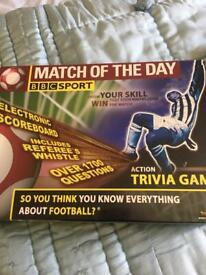 Brand new still boxed Match of the day