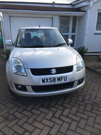 08/58 SUZUKI SWIFT GLX 16v 5 DOOR 67,000 FSH