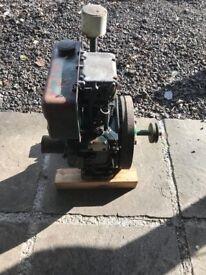 Lister petter engine antique vintage