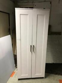 🚚🚚✅✅Painted Two Door White With Mirror Inside For Sale Free Delivery Radius Apply ✅✅✅