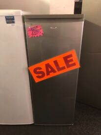 LOGIK FROST FREE UPRIGHT FREEZER IN SILIVER