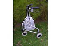 3-WHEELS DISABILITY WALKER IN VERY GOOD CONDITION