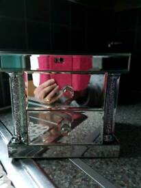 ABSOLUTELY GORGEOUS MIRRORED JEWELLERY BOX
