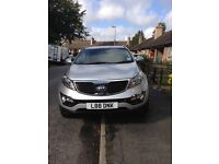 60 plate Kia Sportage first edition