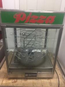 Doyon Pizza Display Warmer - 4 rotating racks - great shape!