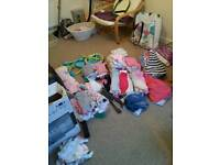 3-6 months girls clouths