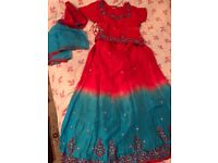 Lengha Asian suit dress