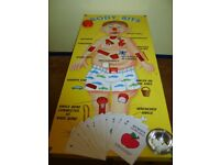 Giant Operation Game with accessories. Conference Company, Corporate Hospitality Charity Party Event