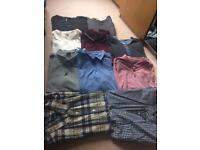 Men's clothes Large polo shirts, tops, shirts bundle