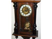 antique vienna wall clock