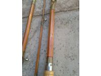 old fishing rod