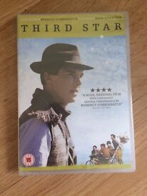 "BRAND NEW DVD: ""THIRD STAR"" STARRING BENEDICT CUMBERBATCH"