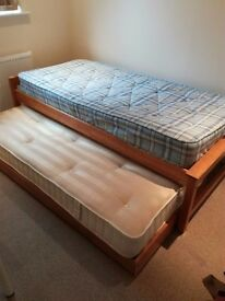 One Single bed can expand to two single beds with two mattress