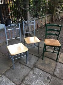 3 chairs for 20£!!