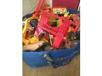 Toy train track bundle inc. Chuggington and Brio