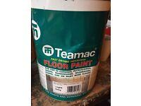 Concrete foor paint garage floor paint quick drying approx 4.5l