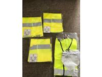 Hi vis work vests