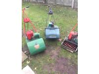 Three cylinder mowers