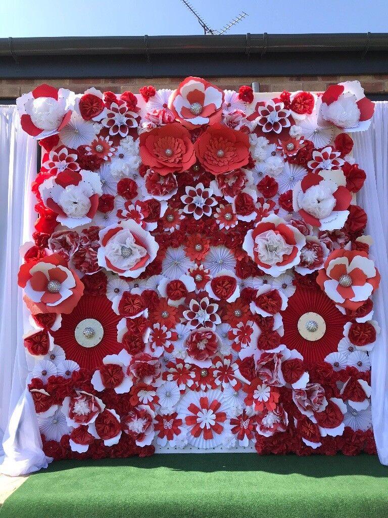 Paper flower backdrop package business opportunity weddingevent paper flower backdrop package business opportunity weddingeventpartyceleebration mightylinksfo