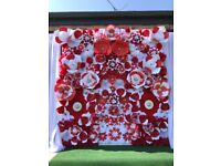 PAPER FLOWER BACKDROP PACKAGE. BUSINESS OPPORTUNITY. WEDDING/EVENT/PARTY/CELEEBRATION
