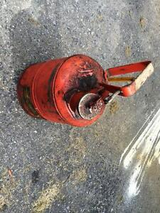 METAL SAFETY GAS CAN 1 Gallon