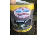 Sandtex exterior wall paint evening shadow