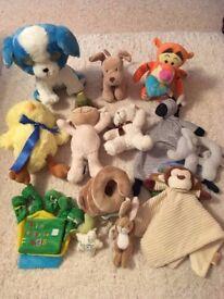 Cuddly Baby Toys