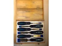 Cabinet makers 6 piece professional chisel set