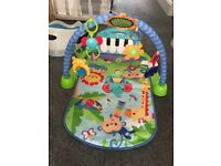 Fisher price kick and play piano play mat