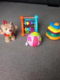 Small Baby Toy Bundle 6months +