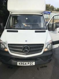 Mercedes Sprinter Luton 311cdi LWB 2015 with Tail-Lift