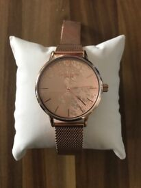 Daisy Dixon Rose gold watch