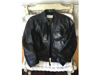 Aero Leather Jacket - Front Quarter Horsehide Highwayman Size 44