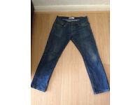 Topman medium blue slim jeans 32short