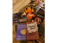 Selection of teenagers books