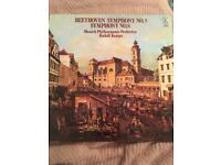 Beethoven Symphony No.5 Symphony No.8 Vinyl