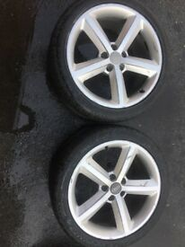 Audi A4 alloy wheels. 18 inch B8 also fit A6