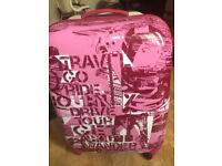 hard shell 4 wheel suitcase